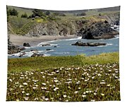 Northern California Coast Scene Tapestry