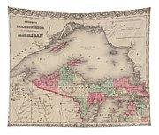 Northern Michigan And Lake Superior Tapestry