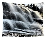 Northern Michigan Up Waterfalls Bond Falls Tapestry
