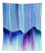 Northern Mountain Lights Tapestry