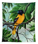 Northern Oriole Tapestry