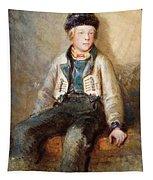 Norwegian Boy Tapestry