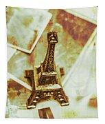 Nostalgic Mementos Of A Paris Trip Tapestry