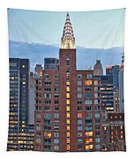 Not The Chrysler Building Nyc Tapestry