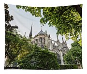 Notre Dame Cathedral - Paris, France Tapestry
