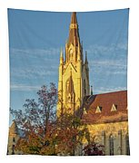 Notre Dame University Basilica Of The Sacred Heart Tapestry