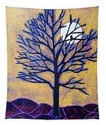 November Moon Flash Tapestry