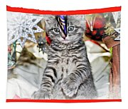 Now Where Did That Ornament Go I Just Saw It A Second Ago Tapestry