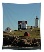 Nubble Light 4 Tapestry