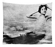 Nude As Mermaid, 1890s Tapestry