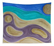 Nude On Beach Tapestry