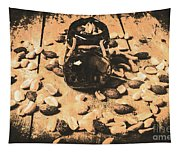 Nuts About Vintage Still Life Art Tapestry