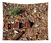Nuts And Bolts Rusted Tapestry