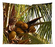Nuts On Tree  Tapestry