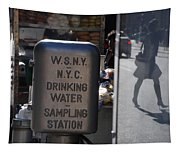 Nyc Drinking Water Tapestry