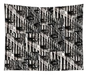 Nyc Fire Escapes Tapestry