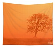 Oak At Sunrise Tapestry