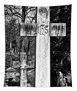 Oak Hill Cemetery Crosses #2 Tapestry