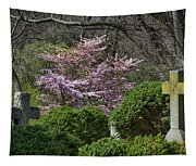 Oak Hill Cemetery Crosses Tapestry