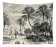 Oasis Of Gafsa  Tunis Tapestry