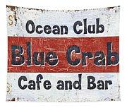 Ocean Club Cafe Tapestry