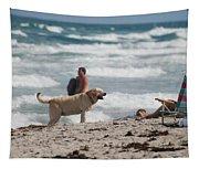 Ocean Dog Tapestry