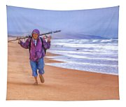 Ocean Fisherman Tapestry