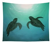 Ocean Light Tapestry