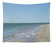 Ocean View From The Beach In Chatham Tapestry