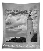 Ocracoke Island Lighthouse Poster Tapestry