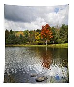 October Brisk Waterscape Tapestry