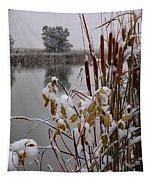 October Snow Tapestry