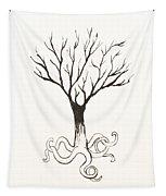 Octopus Tree Tapestry