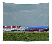 Odd Couple Delta Airlines Southwest Airlines Art Tapestry