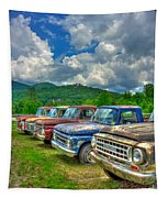 Odd Man Out Fords And Friend  Tapestry