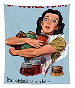 Of Course I Can -- Ww2 Propaganda Tapestry