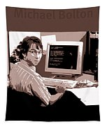 Office Space Michael Bolton Movie Quote Poster Series 004 Tapestry