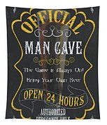 Official Man Cave Tapestry