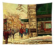 Ogilvys Department Store Downtown Montreal Tapestry