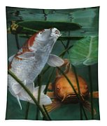 Oh Boy More Koi Tapestry