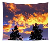 Okanagan Sunset Tapestry