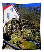 Old 1886 Mill Tapestry