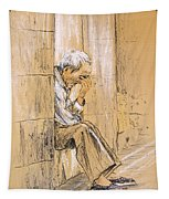 Old And Lonely In Spain 01 Tapestry
