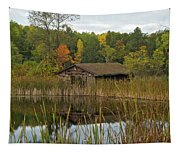 Old Bait Shop On Twin Lake_9626 Tapestry