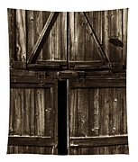Old Barn Door - Toned Tapestry