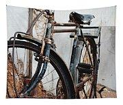 Old Bike II Tapestry