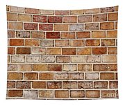 Old Brick Wall Tapestry
