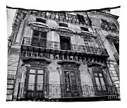 Old Building In Sicily Tapestry