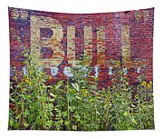 Old Bull Durham Sign - Delta Tapestry