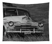 Old Chevy By The Levee Tapestry